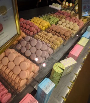 (The famed macarons of Ladurée's)